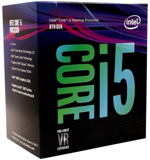 INTEL-1151 Core i5-8400 6-Core 2.8GHz (4.0GHz) Box